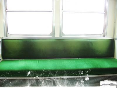 viajamos tanto en tren q llegamos a encontrar un asiento vacío