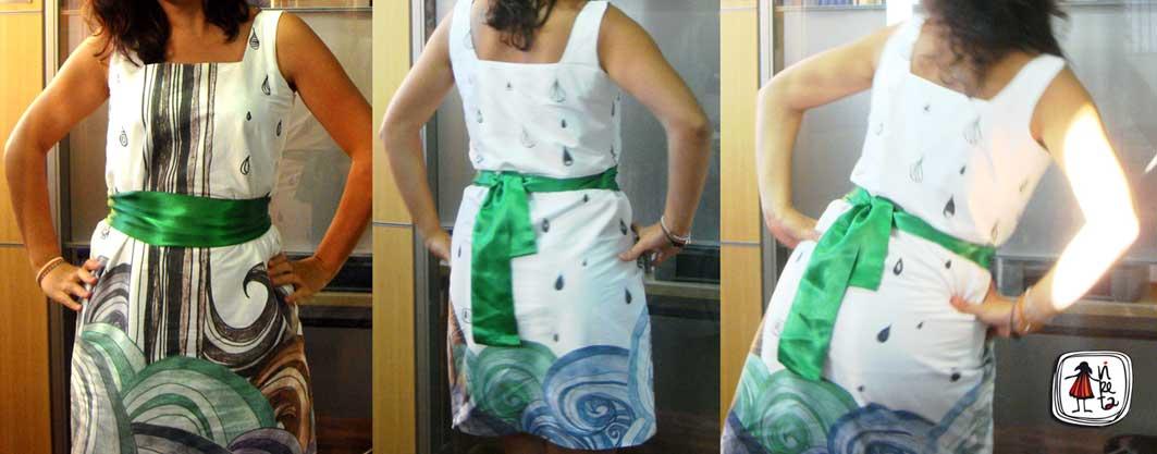 el primer vestido vireta