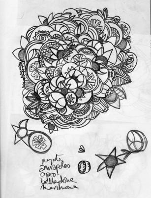 estudiando las Flores del Mal
