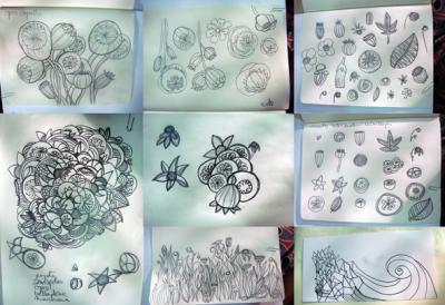 estudiando las flores del mal III
