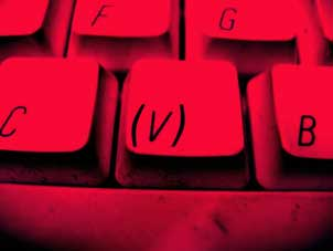 teclado ( v )
